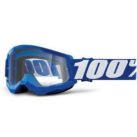 100% Strata Anti-Fog Goggles Gen2 Youth, blue/clear